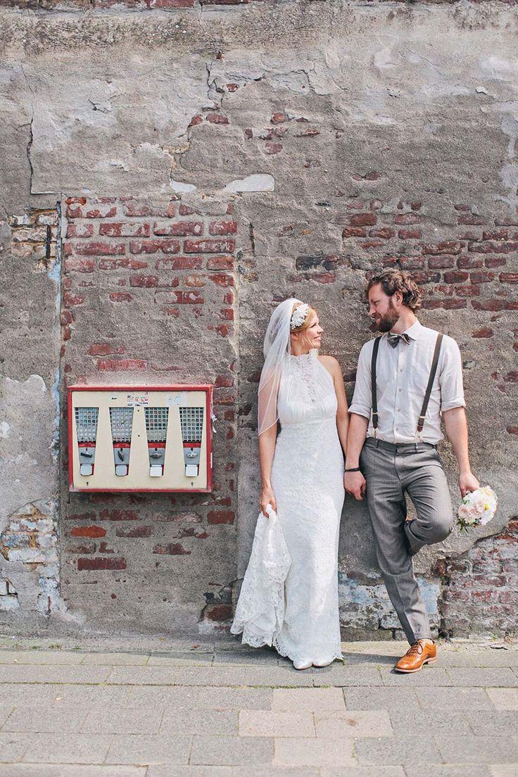 Wonderful wedding dream in vintage style by Nancy Ebert Photography