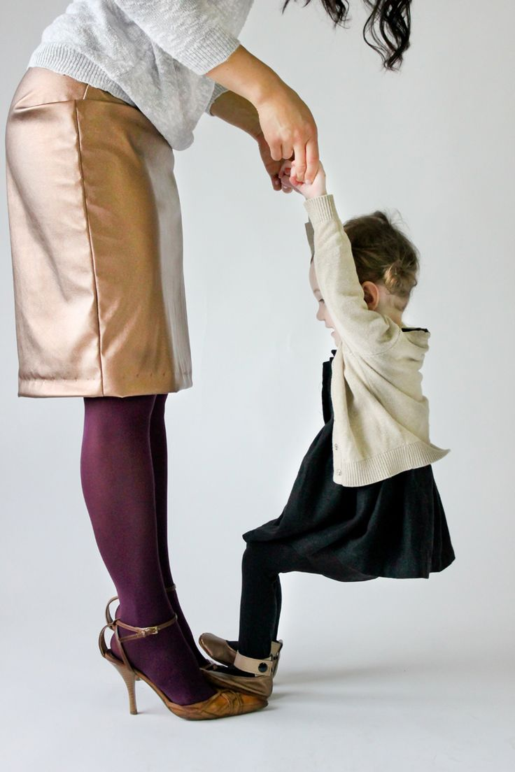 Pencil skirt and baby shoes made from Girl Charlee Vegan Leather...big giveaway on www.deliacreates.com!