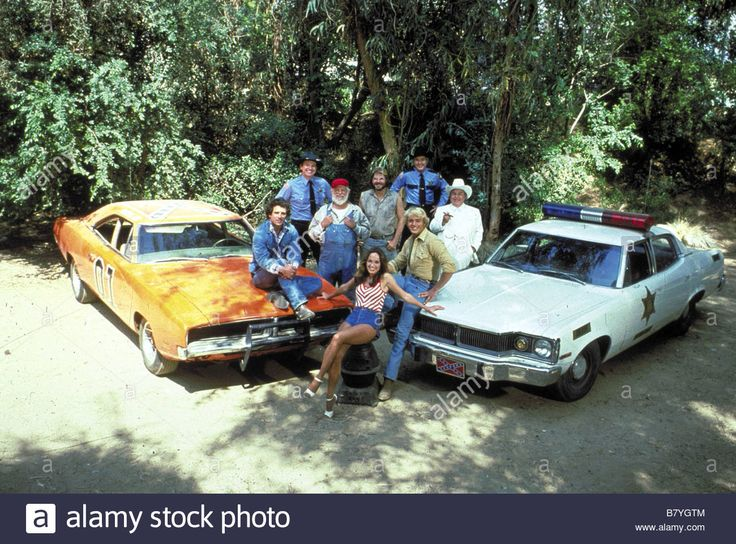 Stock Photo - Tom Wopat John Schneider Catherine Bach Sorrell Booke Denver  Pyle James Best Directed by Rodney Amateau William Asher