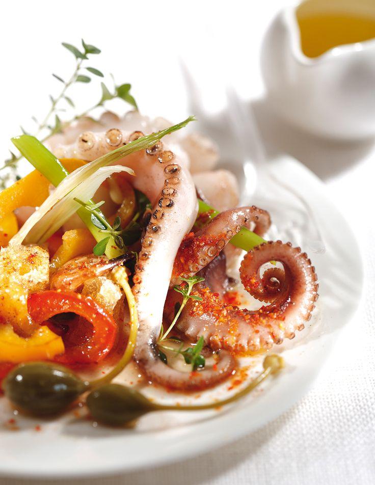 Les 25 meilleures id es de la cat gorie salade de poulpe - Comment cuisiner un poulpe ...