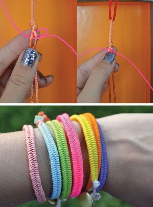 Quick DIY Braceletes Pictures, Photos, and Images for Facebook, Tumblr, Pinterest, and Twitter