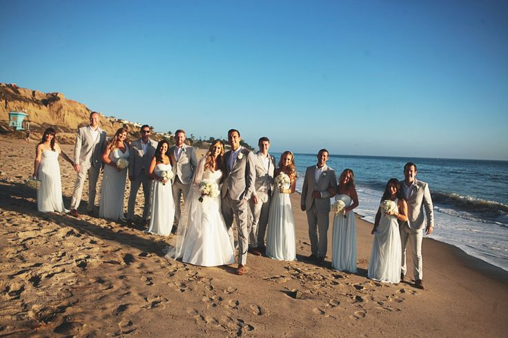 Pure Lavish Events | Coastal wedding | Orange County | Blue wedding | Blue and White | Copro Studios | Flowers by Mae Mae | Wedding party