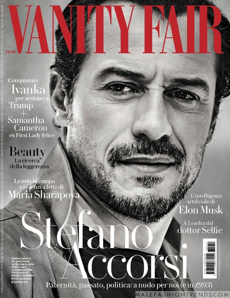 Stefano Accorsi para Vanity Fair Italia por Marcel Hartmann