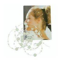 Filo perle per acconciature sposa