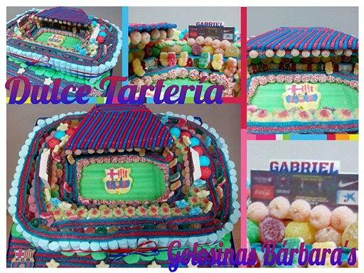 Tarta Camp Nou Gabriel