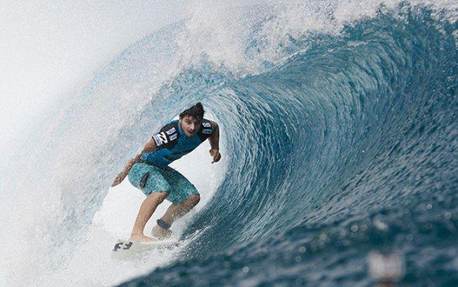 """Ricardo dos Santos: """"Os gringos estão espantados com os surfistas brasileiros"""""""