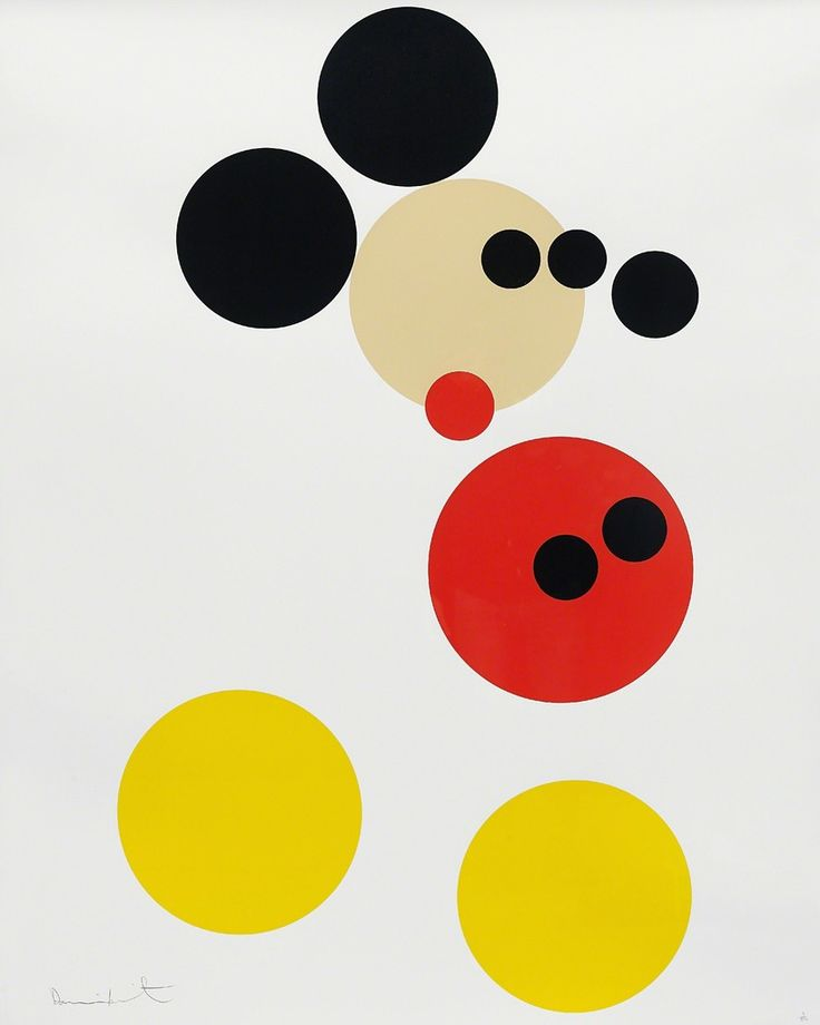 Damien Hirst, Mickey, 2014, Phillips: Evening and Day Editions
