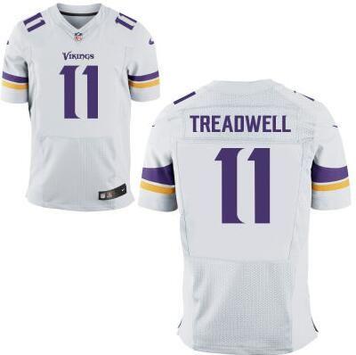 NFL Minnesota Vikings #11 Laquon Treadwell Nike Purple Elite 2016 Draft Pick Jersey