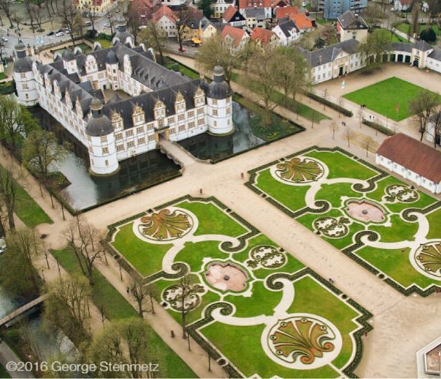 Photograph by George Steinmetz The Schloss Neuhaus in Paderborn, Germany