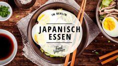 Japanisches Essen ist mehr als nur Sushi. Hier solltet ihr unbedingt mal vorbeischauen.