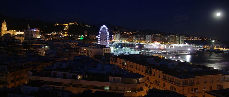Málaga. Nocturno.