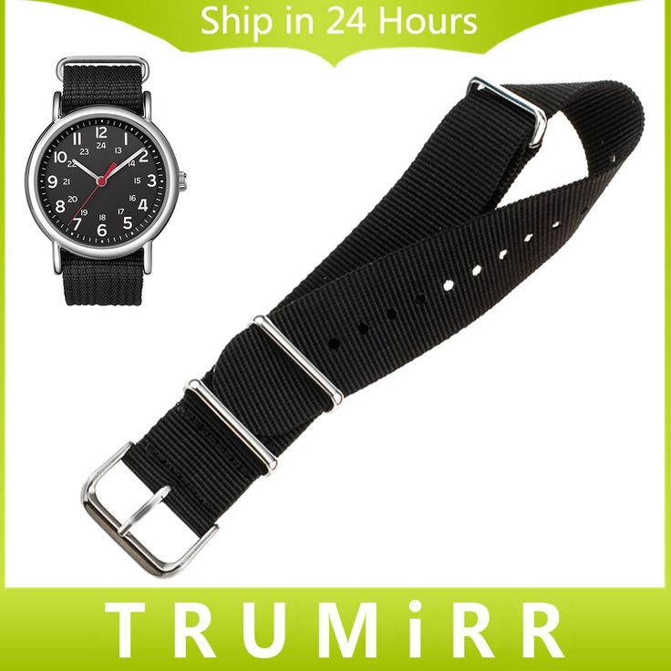 7.99$  Watch here - http://alif9r.shopchina.info/go.php?t=32706935079 - 18mm 20mm 22mm Nylon Watch Band for Timex Weekender Expedition Classic Men Women Fabric Strap Wrist Bracelet Multi Colors + Tool 7.99$ #shopstyle