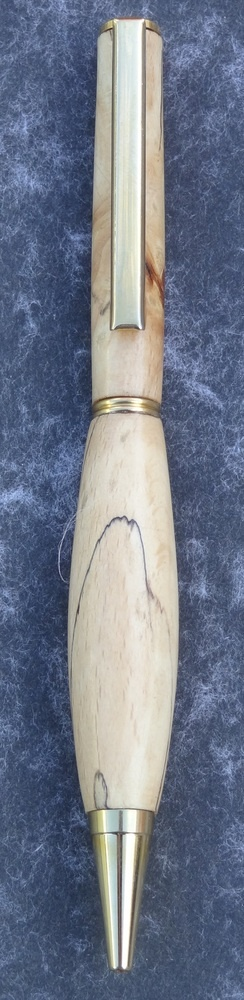 Hand made slimline wooden pen £9.95