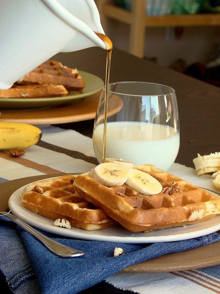 Banana Nut Waffles | Favorite Recipes | Pinterest