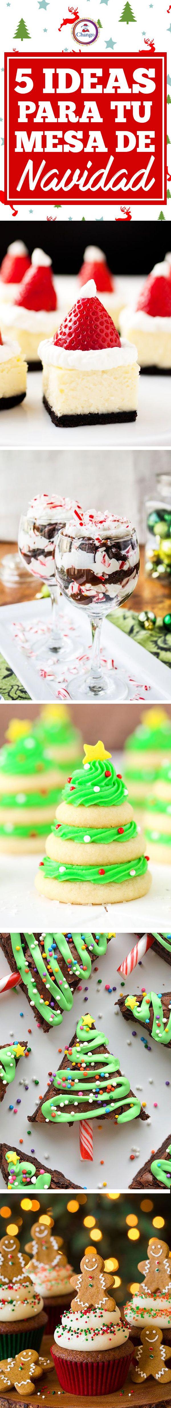 ¡Te regalamos estas ideas para que tu mesa de navidad sea la mejor de todas!
