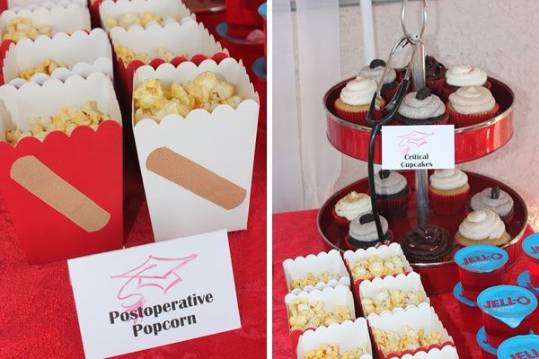College Graduation Party Ideas Food Featured Med School Recipes Justin S Pa Grad Pinterest