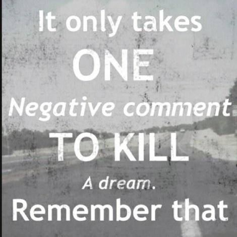 Negative comment