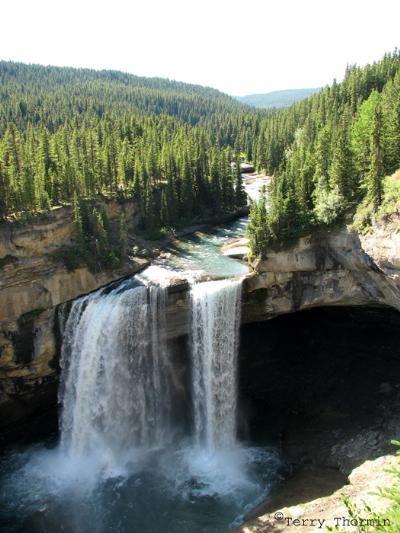 Kakwa Falls, Grande Cache, Alberta At 30meters Alberta's tallest waterfall near Grande Cache, Alberta