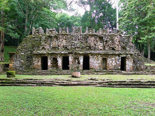 Yaxchilan Ruinas Mayas, Zona Arqueológica de Yaxchilan, Chiapas