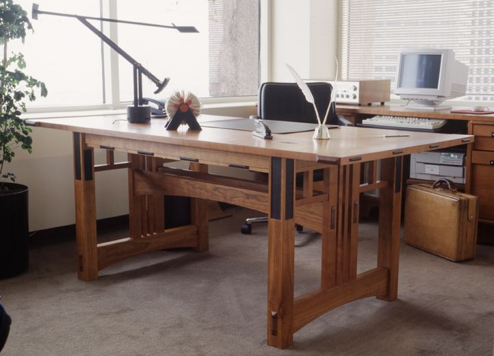 Taliesin Desk by Kevin Rodel Furniture & Design Studio.