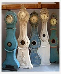 Swedish Grandmother Clocks