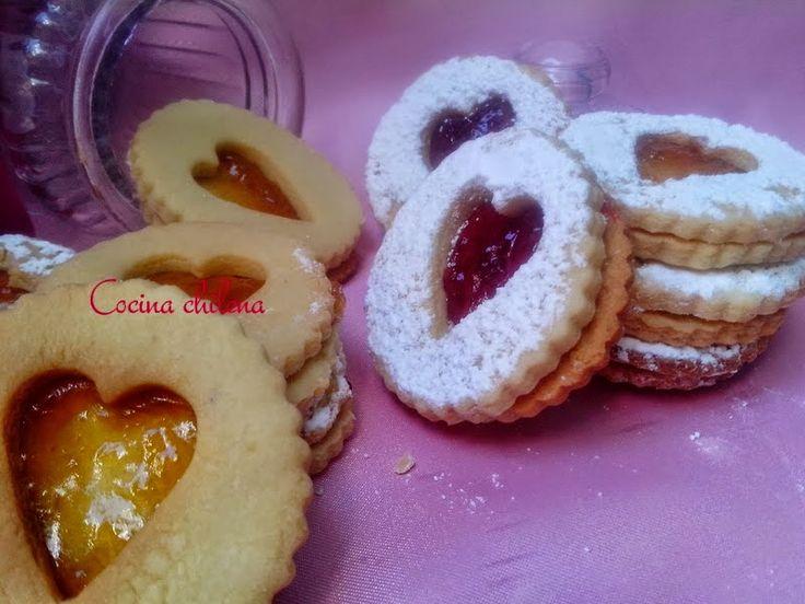 Estas galletas llenas de amor ,puro corazón Para hacer en el día del amor Puedes rellenar con diferentes sabores
