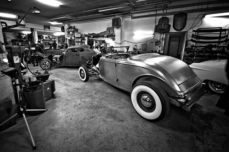 Hot Rod Garage : Best images about hot rod garage on pinterest cars