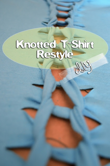 grrfeisty: Knotted T-Shirt DIY