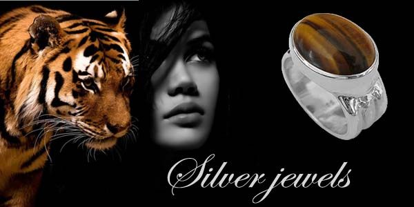 Eye of the tiger stone, for women who know what they want!
