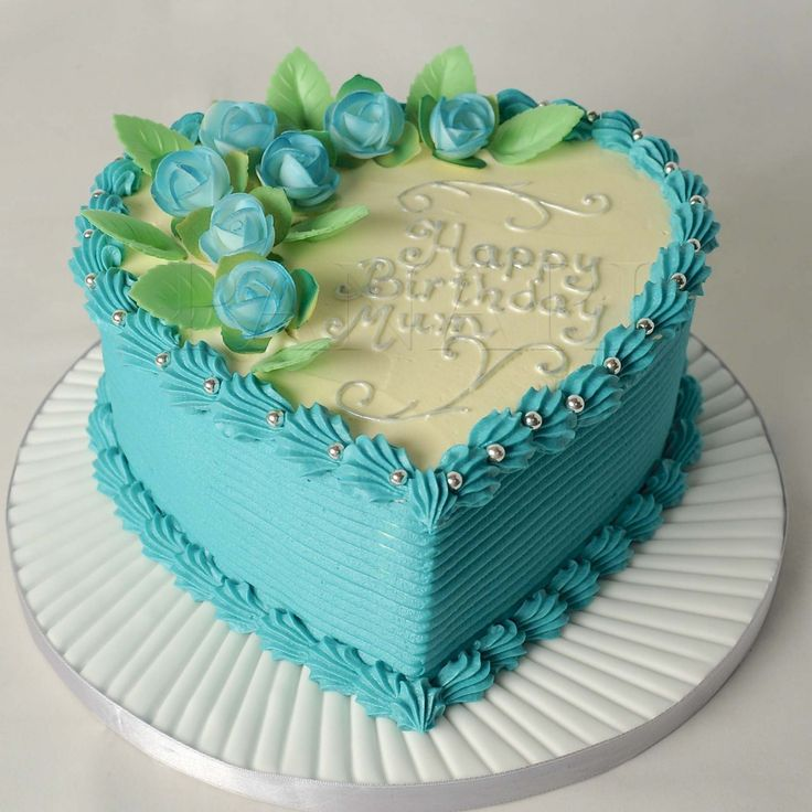 Images Of Heart Shape Cake Designs : 48 best images about Cake Decorating - Heart Shaped on ...