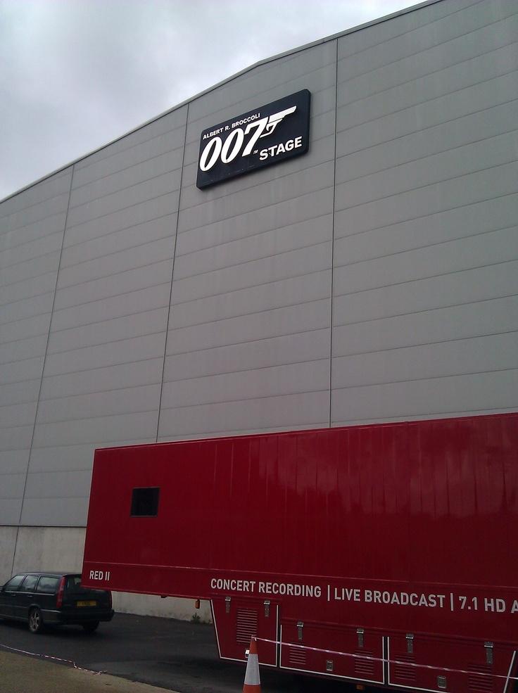 Gold Finger Avenue, Pinewood Studios where every Bond movie but Goldeneye was filmed.