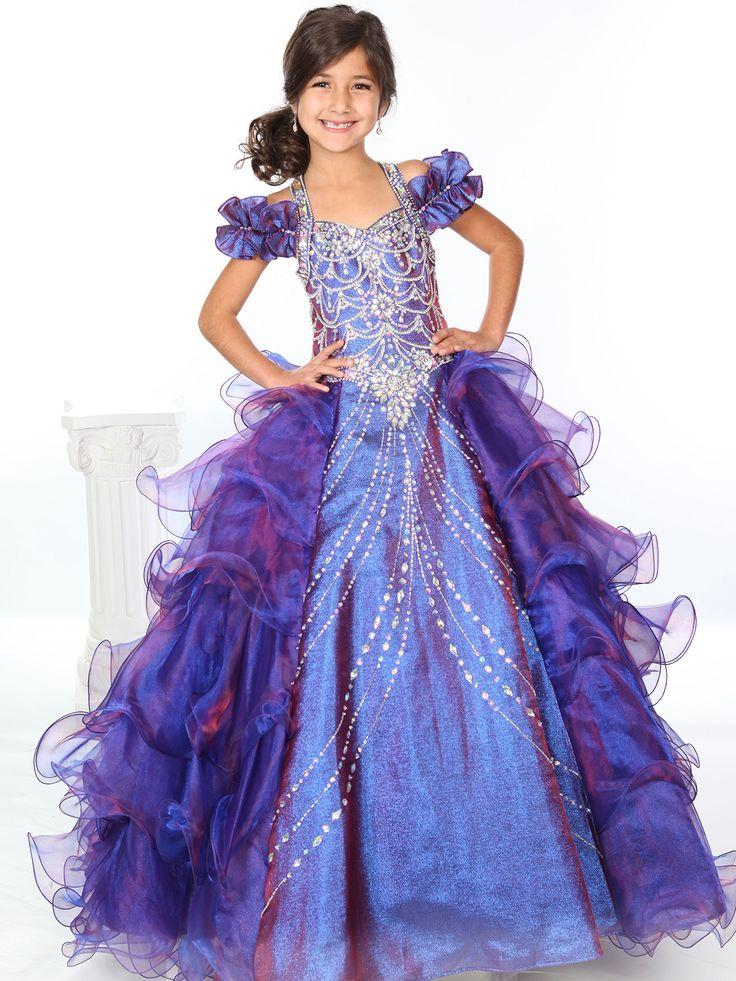 Unique fashion pageant dresses