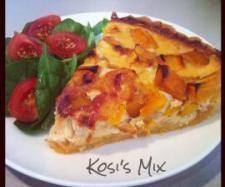 Pumpkin, Feta, Caramelised Onion, Polenta Crust Tart   Official Thermomix Forum & Recipe Community
