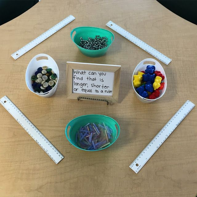 Thinking and Learning in Room 122- measurement provocation- length