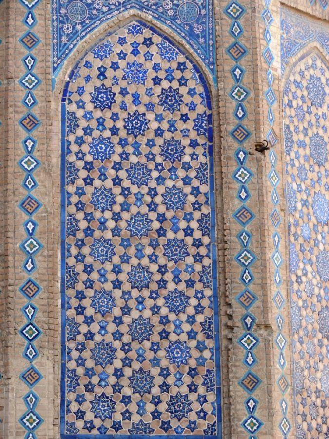 Eastern patterns. Samarkand