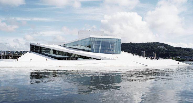 norwegian national opera and ballet | snøhetta, 2008