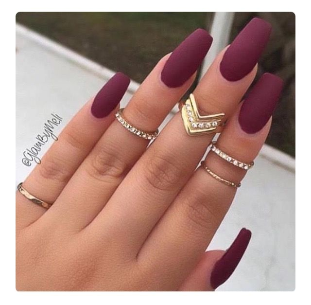 Best 25 cute acrylic nails ideas on pinterest acrylic nails 17 manicures that will have you mad about matte prinsesfo Images