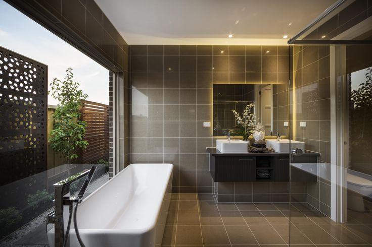 Riverview Bathroom - Simonds Homes #interiordesign
