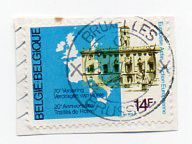 Belgium 1978 14F E.U. Treaty of Rome 20th anniversay postage stamp used on paper Listing in the Belgium & Colonies,Europe,Stamps Category on eBid United Kingdom