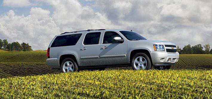 Chevrolet Surburban, reconocido como uno de los mejores automóviles a la venta en el mercado norteamericano.