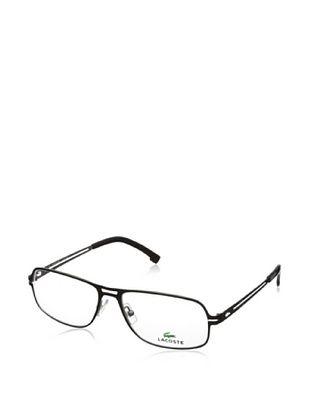 60% OFF Lacoste Women's L2109 Eyeglasses, Shiny Black/Satin Silver