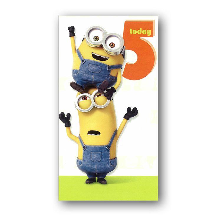 22 besten Minions Birthday Cards Bilder auf Pinterest ...