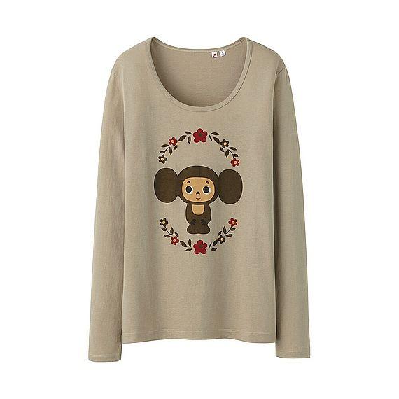 UNIQLO Cheburashka T-shirt