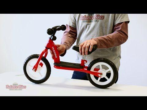 Hudora Toddler Balance Bike - YouTube