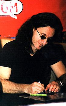 Richard Carter's Geddy Lee Page