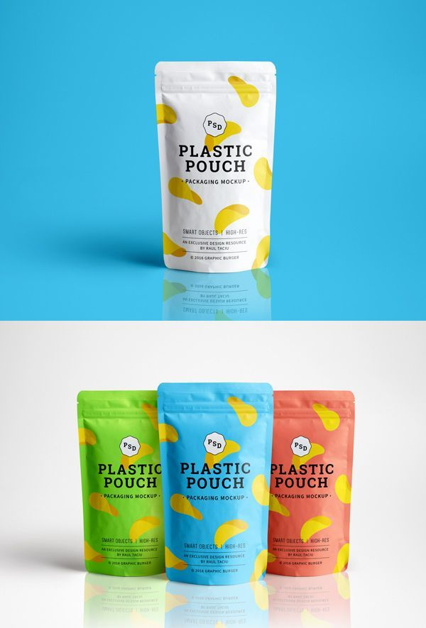 Say hello to a new photorealistic mock-up of a simple plastic pouch, ideal for creating a clean presentation for your next...