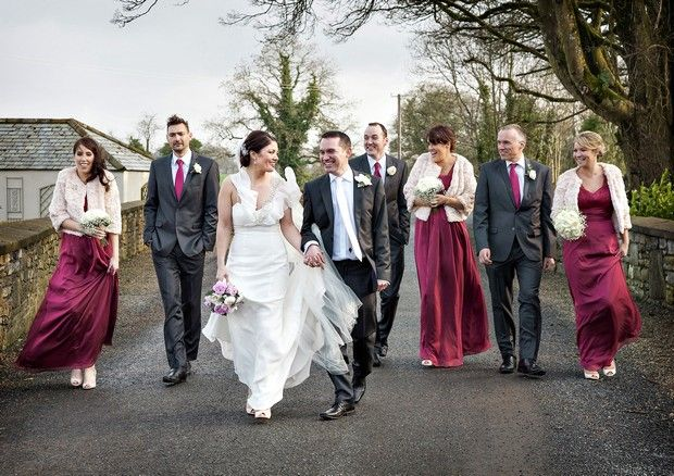 Classic, Chic and full of Charm – Real Wedding at Clonabreany House | weddingsonline