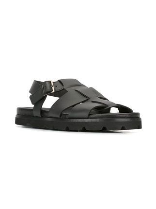 Lanvin cut out strappy sandals