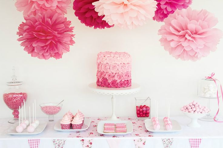 Dessert Tables - Unlimited Party Themes - DIY party ideas DIY party decorations