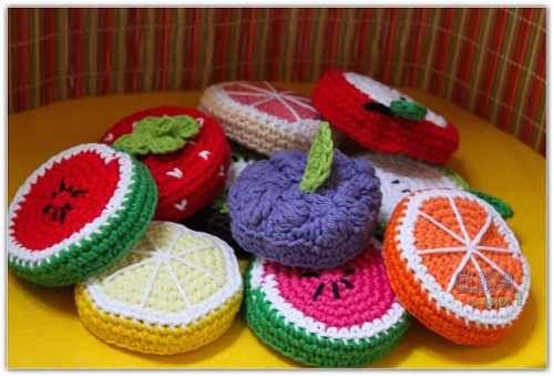Funda A Crochet Para Tapas De Frascos - Elida A Tejer - $ 25,00